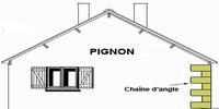 pignon de toit
