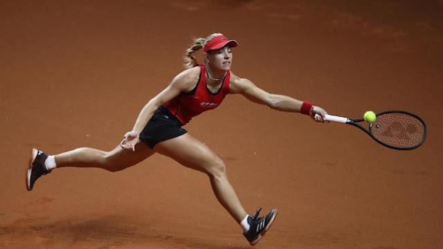 Italia Terbuka: Kerber dan Sharapova Melaju ke Babak Kedua