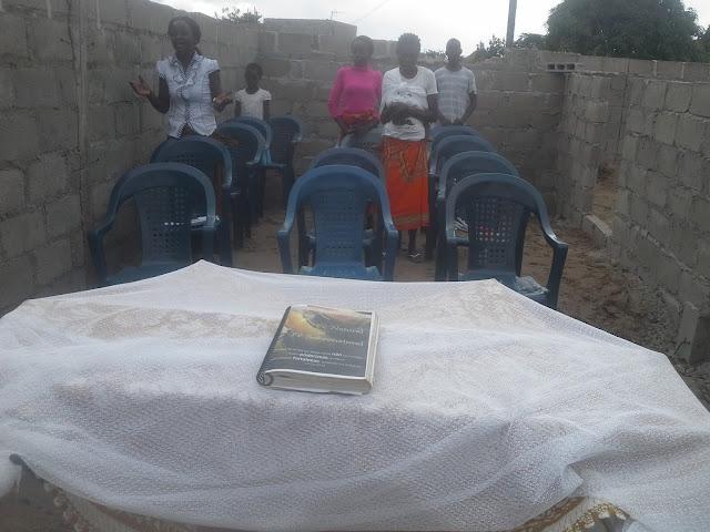 Igreja amor eterno em Mocambique