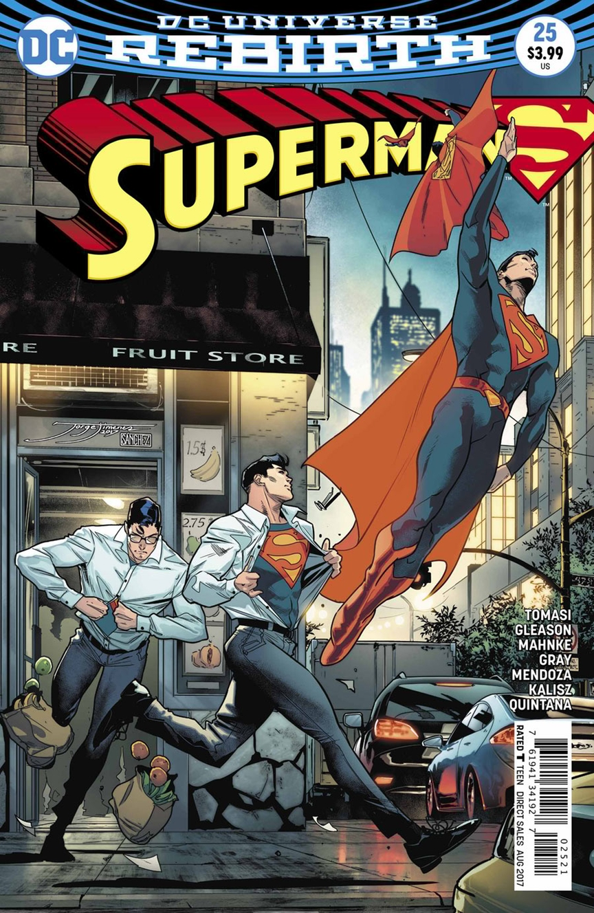 dc comics rebirth spoilers review superman 25 teases.html