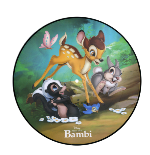 Bambi soundtrack picture disc vinyl