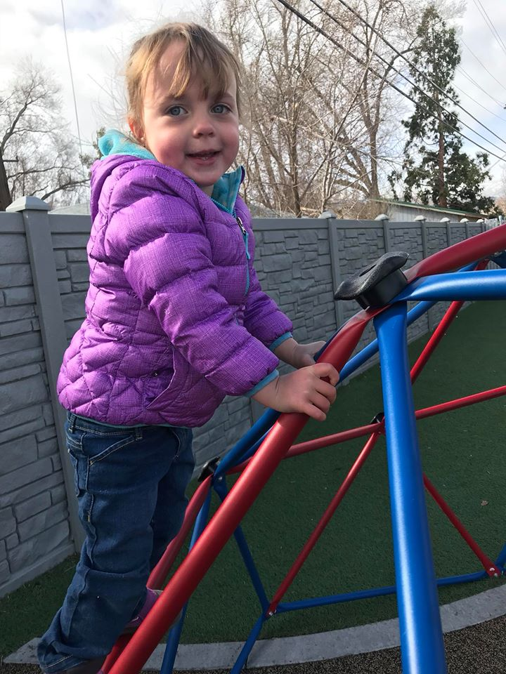 toddler playground time