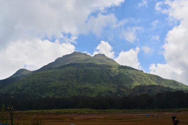 Mt. Apo from Lake Venado
