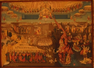 το έργο Η Δευτέρα Παρουσία του Αβραάμ στο Μουσείο Μπενάκη