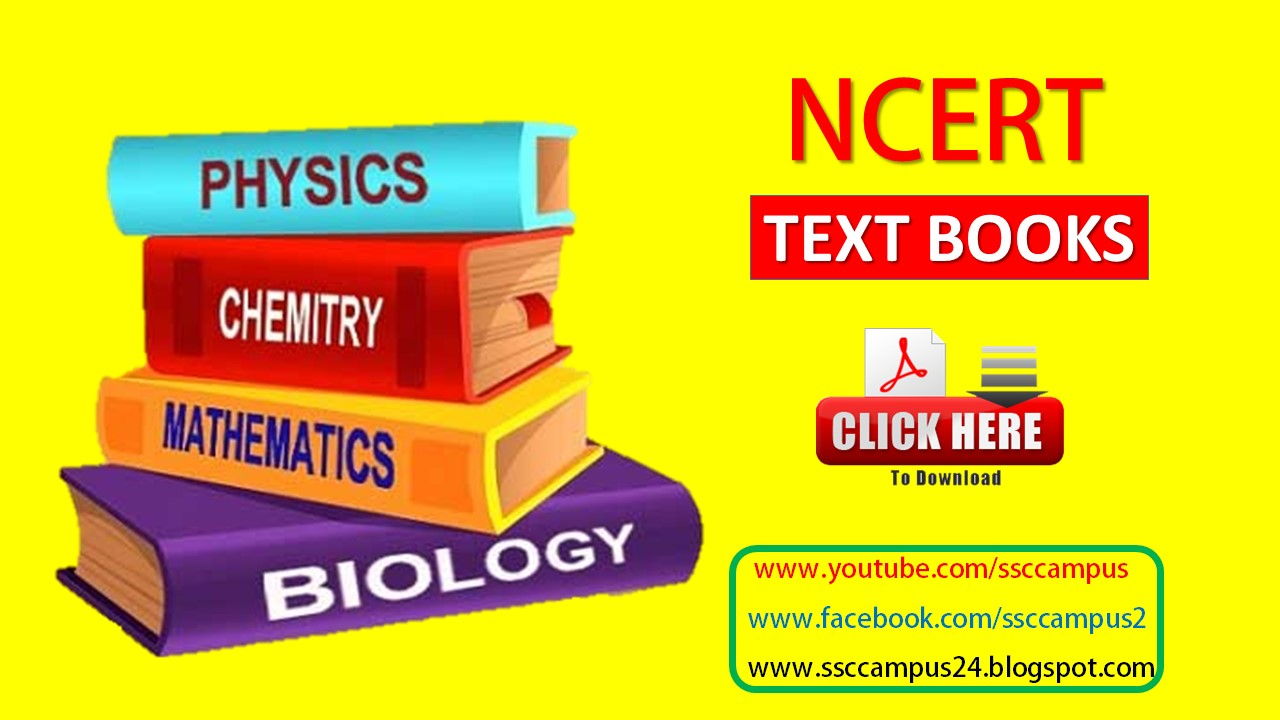 NCERT Books Free PDF Download for Class 1st to 12th - Ssc Campus