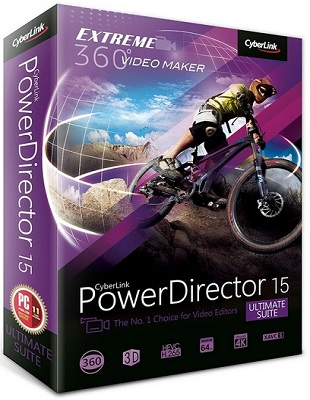 CyberLink PowerDirector Ultimate Suite 16.0.2420.0 poster box cover
