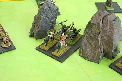 thracians versus goblin wolf riders
