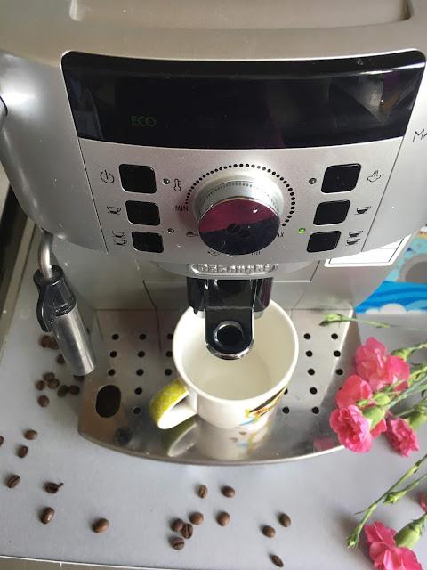 ekspres delonghi magnifica kawa ziarnista bratki