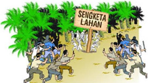 Oknum Polisi Serobot Ratusan Hektar Lahan Warga di Bangko Pusaka
