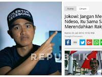 Dulu Jokowi Larang Ngejek Ndeso, Itu Rendahkan Rakyat Kecil. Halo Kaesang?