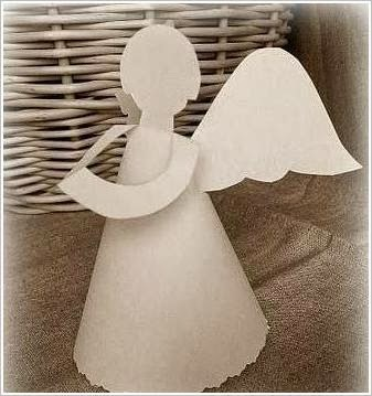 ангел из бумаги