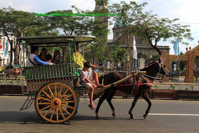 horse drawn ride, Intramuros, Manila, Philippines