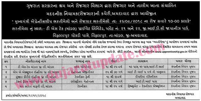 Employment and Training Department Ahmedabad
