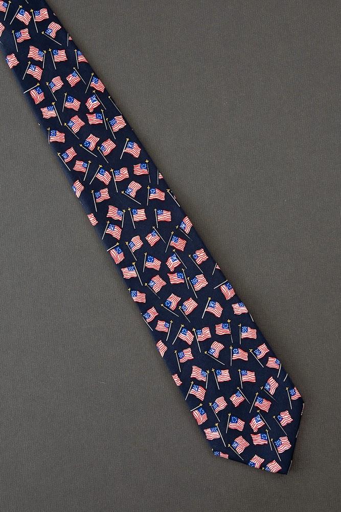 Neckties On Sale: Patriotic Ties For Sale