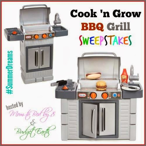 Enter to win the Cook 'n Grow BBQ Grill Giveaway. Ends 4/14.