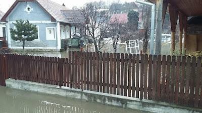 árvíz Székelyföldön, Székelyföld, Hargita megye, Gyergyószárhegy, hóolvadás, Hargita Megyei Sürgősségi Felügyelet