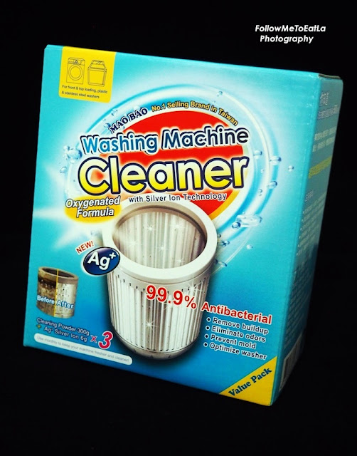 How To Clean Your Washing Machine with MAO BAO Washing Machine Cleaner By Schelly