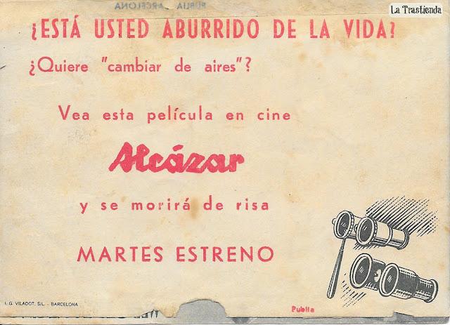Programa de Cine - Un Enredo de Familia - Mercedes Vecino - Antonio Murillo - Paco Martínez Soria