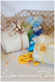 bomboniere battesimo multicolore