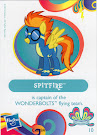 My Little Pony Wave 11 Spitfire Blind Bag Card
