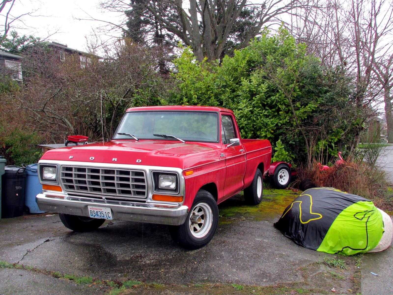Seattle's Classics: 1978 Ford F100 Custom