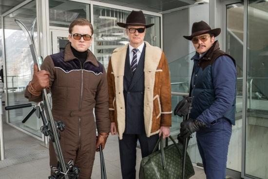 Colin Firth, Pedro Pascal, Taron Egerton