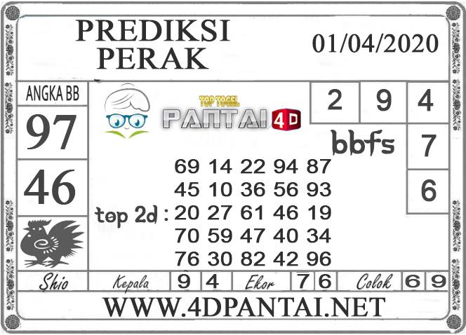 PREDIKSI TOGEL PERAK PANTAI4D 01 APRIL 2020