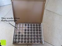 Verpackung innen: Dekoback Pralinen Hohlkugeln 63 Stück Zartbitter, 1er Pack (1 x 176 g)
