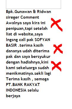 Ciri – ciri Website Undian Palsu + Cara Melaporkannya