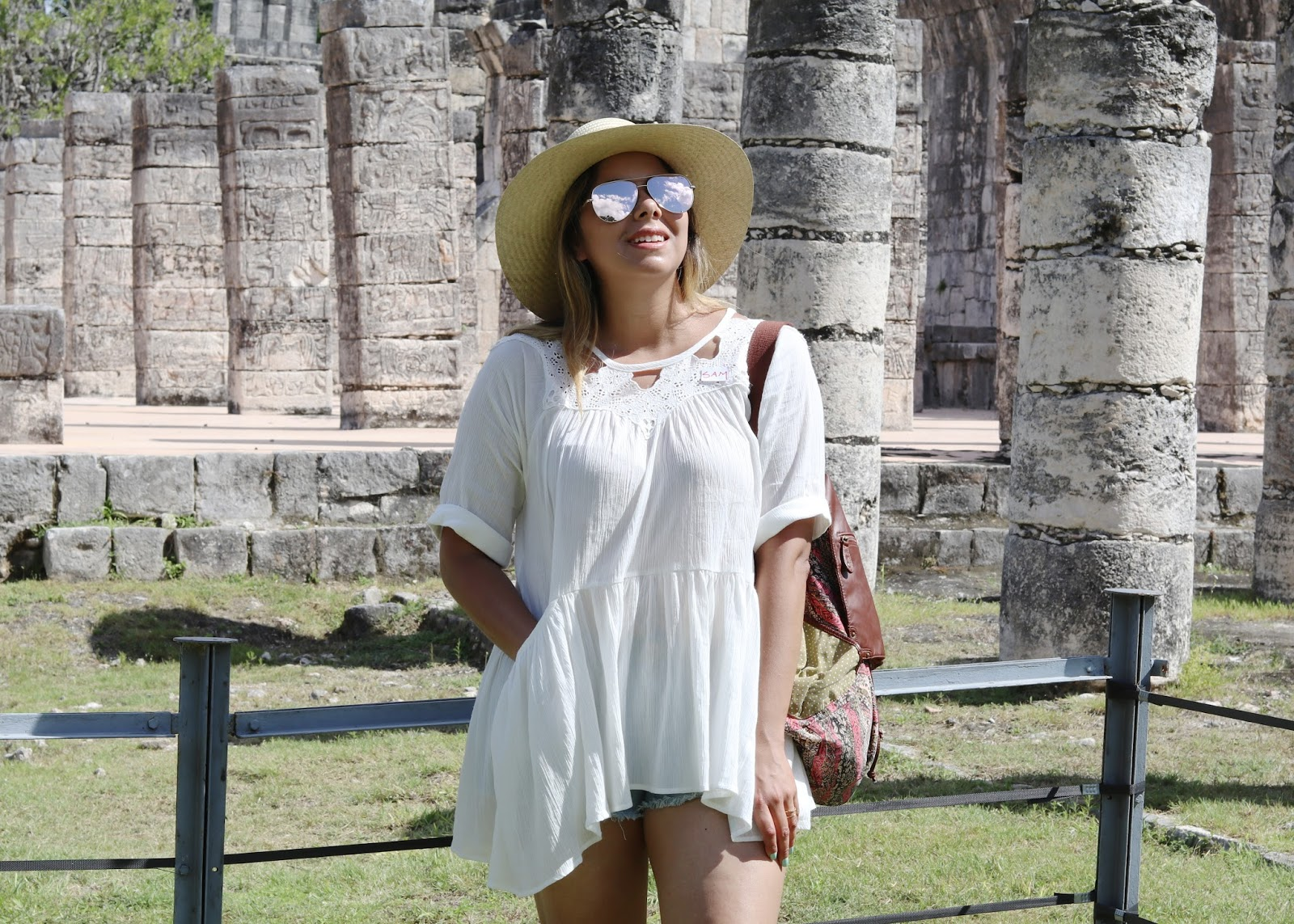 what to wear to mexico, what to wear to cancun, cancun blogger