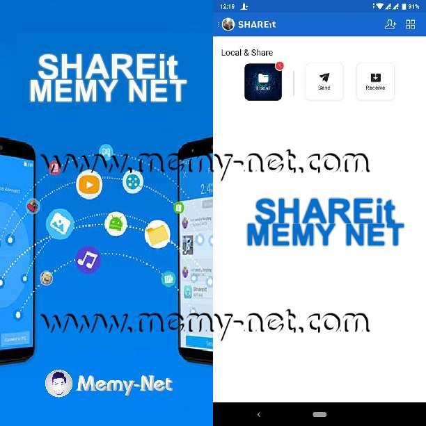 تحميل تطبيق شيريت (SHAREit) للايفون وهواتف اندرويد والكمبيوتر والماك والويندوز فون نسخة خالية من الاعلانات الاباحية مجانا