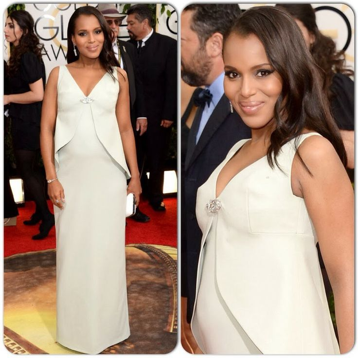 2014 Golden Globe Awards - Kerry Washington in Balenciaga