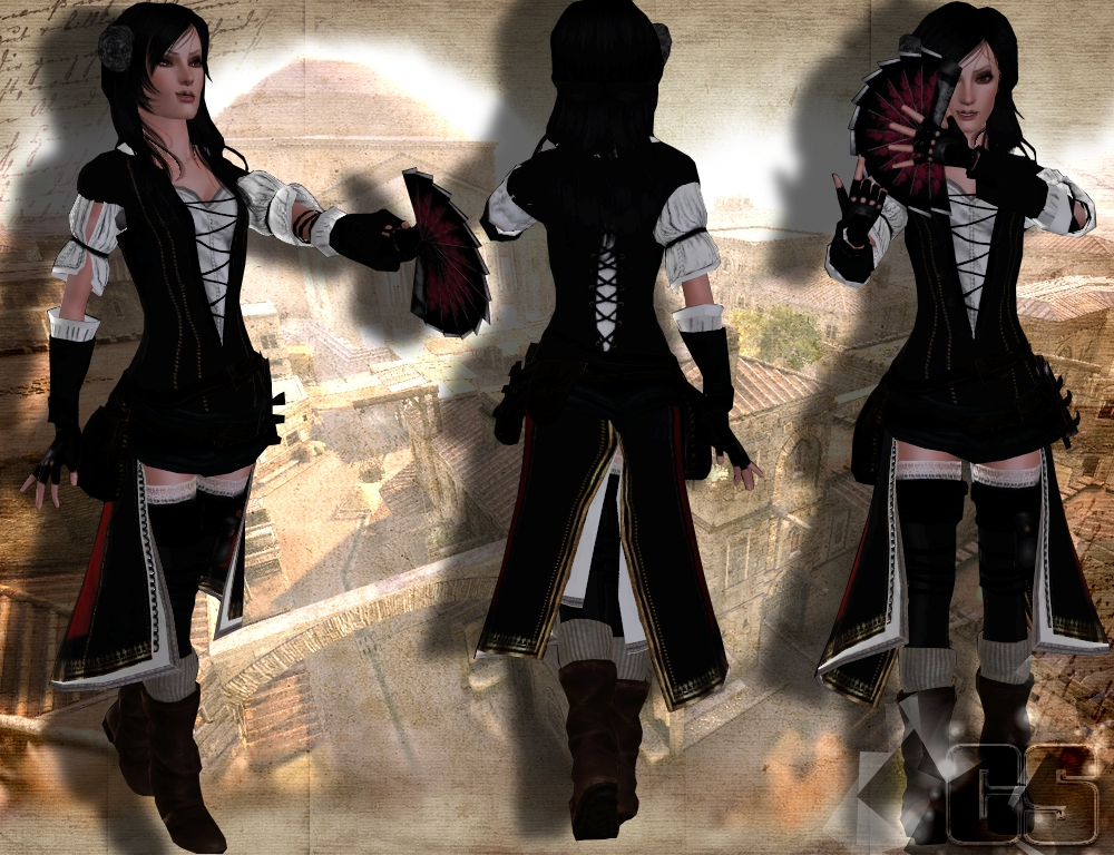 My Sims 3 Blog: Assassin's Creed Set Part 2 By Anita
