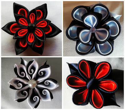 Broches Kanzashi