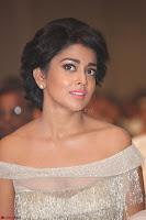 Shriya Saran in Stunning White Off Shoulder Gown at Nakshatram music launch ~  Exclusive (23).JPG