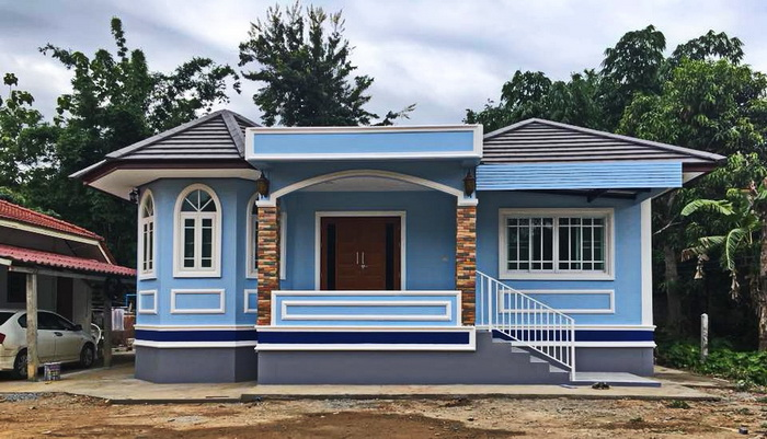 Here are six charming house design with lovely paint colors you can also consider when repainting your own home! If you are looking for a dream home, may this list can inspire you! If you are looking for a charming color for your exterior you can also find ideas with these six house designs. No doubt exterior paint colors makes our house really beautiful and lovely!