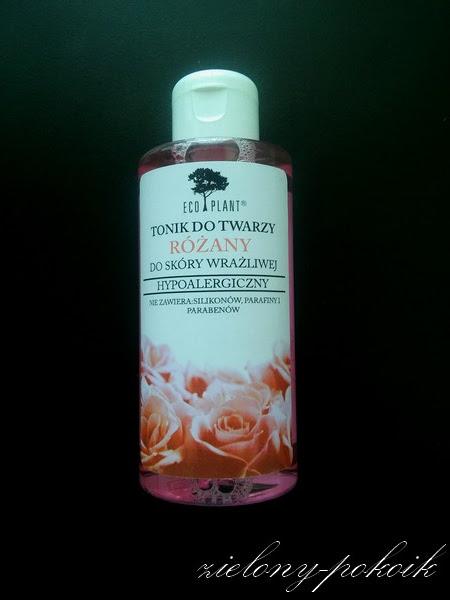 Eco Plant - Tonik do twarzy różany do skóry wrażliwej
