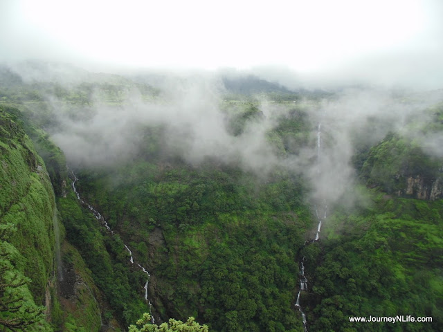 Ahupe Waterfall & Dimbhe Dam Backwaters near Bhimashankar