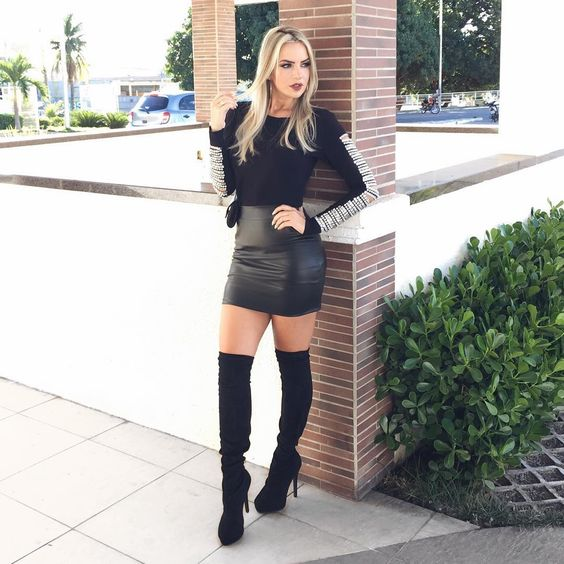Lovely Ladies In Leather: Miscellaneous Leather 30