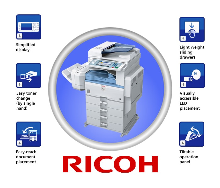 Những trợ năng của máy photocopy Ricoh