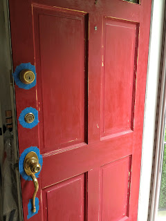 how to refinish your front door