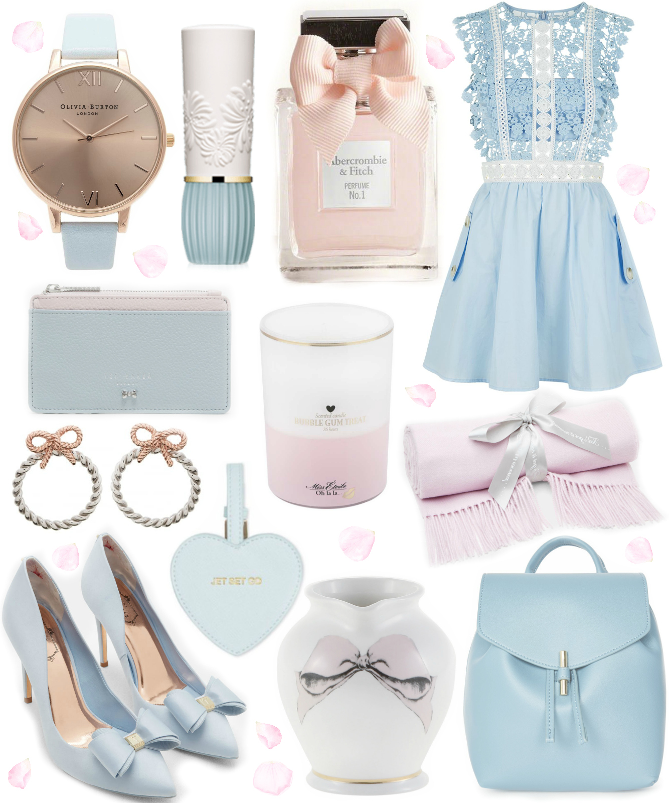 A Cinderella Wishlist | Crushing On Powder Blue & Blush Pink