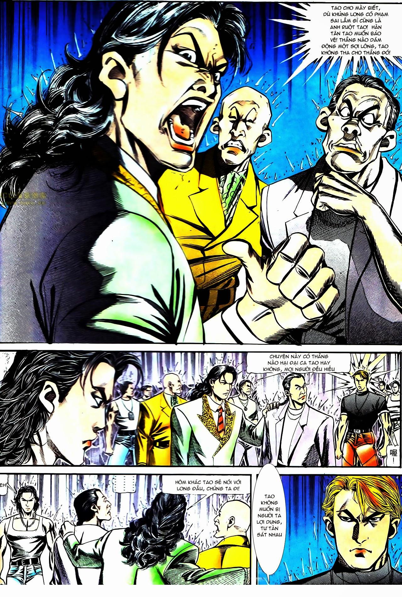 Người Trong Giang Hồ chapter 126: bá chủ trang 11