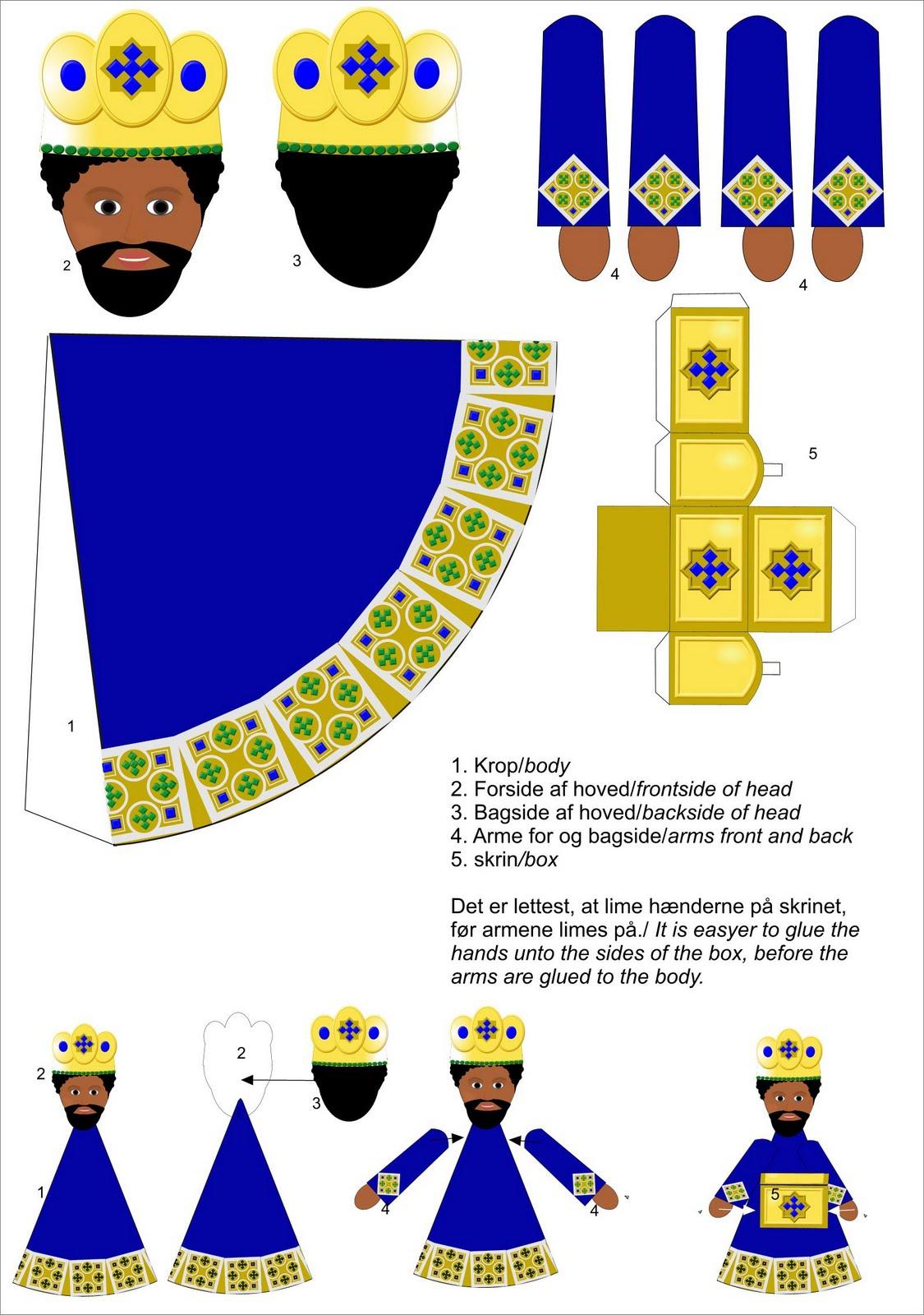 Les Rois Mages Papertoy