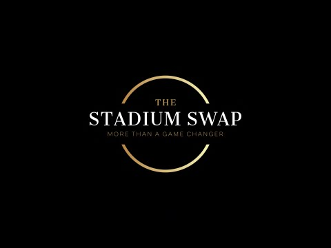 Logo Book Cover Design The Stadium Swap