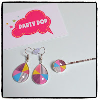 bijoux colorés party pop