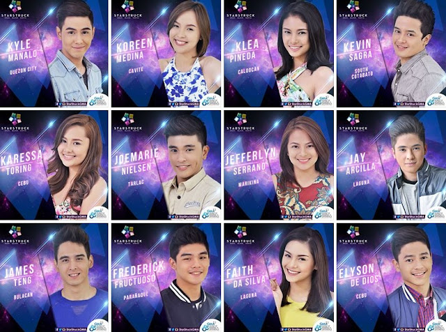 GMA Starstruck VI Top 35 contestants