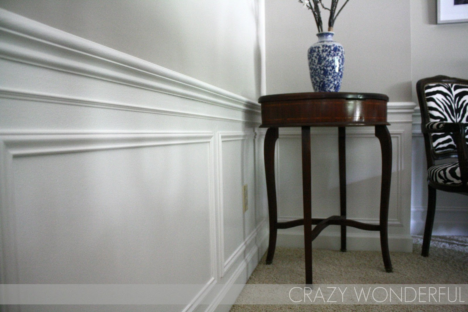 Picture Frame Moulding Below Chair Rail Tall Director Tutorial Crazy Wonderful