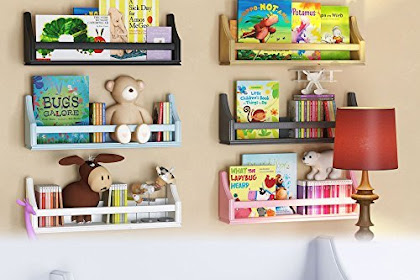 30 Model Rak Buku Dinding Minimalis Terbaru Dengan Bentuk Kreatif