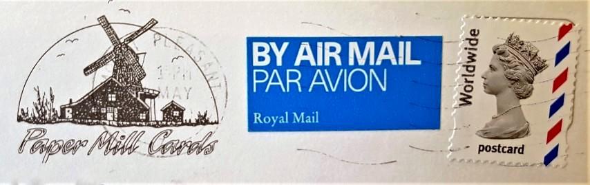Queen Elizabeth II - Decimal Machin - Postcard